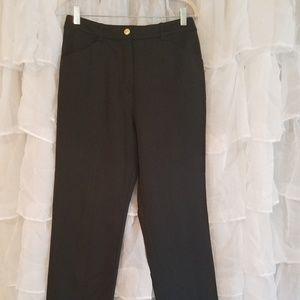St John Collection by Marie Gray black slacks